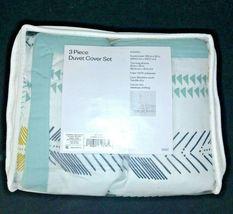 3 Piece Room Essentials Arrow Print KING Duvet Cover Bed Set -2 Shams + 1 Cover image 6