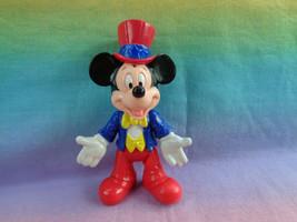 Vintage 1993 McDonald's Epcot Center Mikey Mouse in USA PVC Action Figure - $2.35