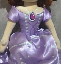 "Disney Princess Sofia The First Plush Doll 23"" JAY FRANCO & SONS - $45.28"