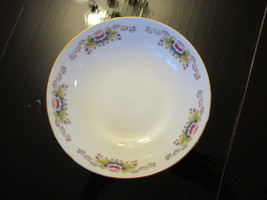 """Serving/Candy Dish made in China Pink Water Lily design 6"""" - $5.00"""