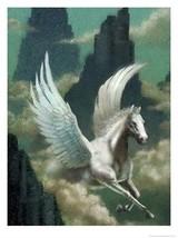 HAUNTED LOVE WISDOM FEMALE Pegasus SPIRIT WISH healing mom25705 wish whi... - $25.88