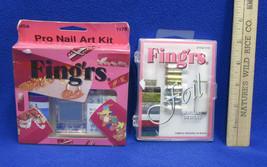 New Pro Nail Art Kit Foil Nail Set Fing'rs Lot of 2 - $11.87
