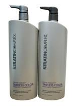 Keratin Complex Timeless Color Shampoo & Conditioner 33.8 OZ. Each - $100.22