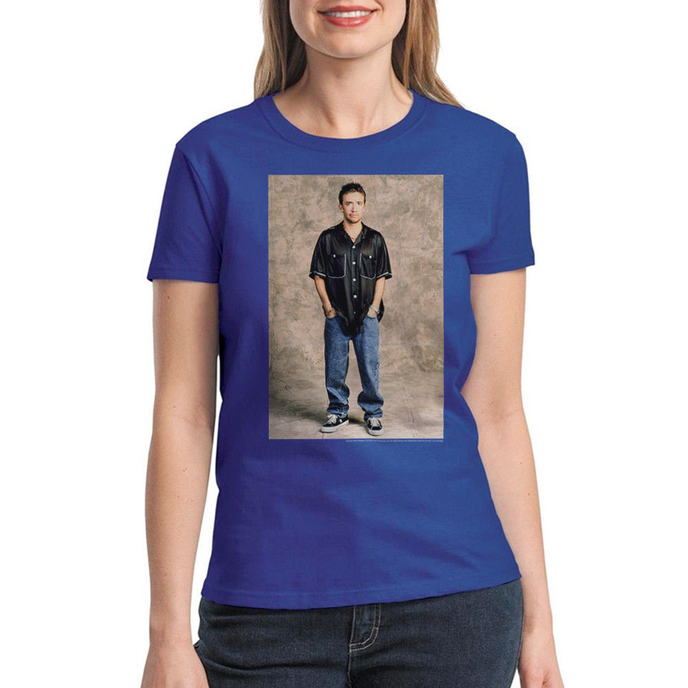 Married With Children Bud Bundy Women's Royal Blue T-shirt NEW Sizes S-2XL