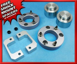 """3.5"""" FT + 2.5"""" RR Silver Billet Lift Kit Fits 2007-2020 Chevy Tahoe 1500 2WD 4WD - $140.00"""