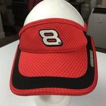 Dale Earnhart Jr. Red Black Visor Cap Men's Women's Dad Caps Hats Snapbacks - $19.55