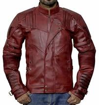 Guardians Biker Star Lord Chris Costume Leather Galaxy Vol 2 Jacket image 1