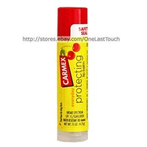 CARMEX Lip Balm/Gloss CHERRY Flavored Sunscreen SPF 15 PROTECTING (uncar... - $2.65