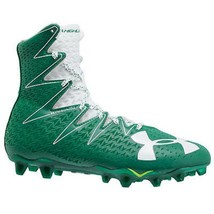 Under Armour Football Cleats Highlight Mc 1269693-313 Clutch Fit Green W... - $33.28