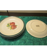 "Casuals Made By China Pearl Set Of Four Salad Plates 7 1/2"" - $12.00"
