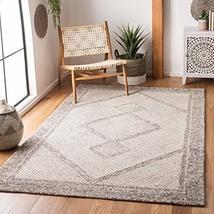 Safavieh Abstract Collection ABT345F Handmade Premium Wool Area Rug, 6' ... - $131.00