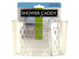 Transparent Shower Caddy with Suction Cups - $5.46