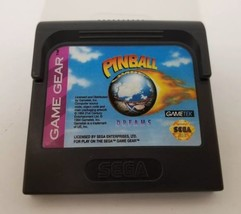 Sega Game Gear Pinball Dreams 1994 Video GameTek Japan FREE SHIPPING - $29.02