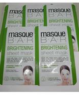 5 MASQUE BAR BRIGHTENING SHEET MASK 0.71 FL OZ EACH - $12.82