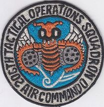 Philippines Air Force PAF 206th  Air Commandos TOS Special Operations Patch  - $9.99
