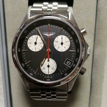 Rare 1980 before and after dead stock Longines Chronograph Men's Watch - $3,392.72