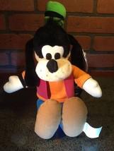 "Disneyland/Disney World Goofy Plush w/Tags 14"" Mouseketoys Vintage - $10.85"