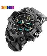 SKMEI Brand Luxury Military Sports Watches Men Quartz Analog LED Digital... - $17.80