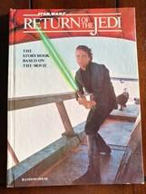 #1-1ST 1983 VF 8.0 - Star Wars Return of the Jedi Storybook HC By Random... - $19.95