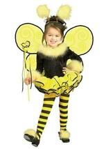 NWT, Rubie Girl's Bumblebee Halloween Costume, Tutu w/ Tights & Accs., Sz S 4-6 - $23.00