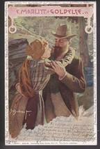 F. Marlitt Goldelse Vintage Artists Signed Postcard Schubert - $5.59