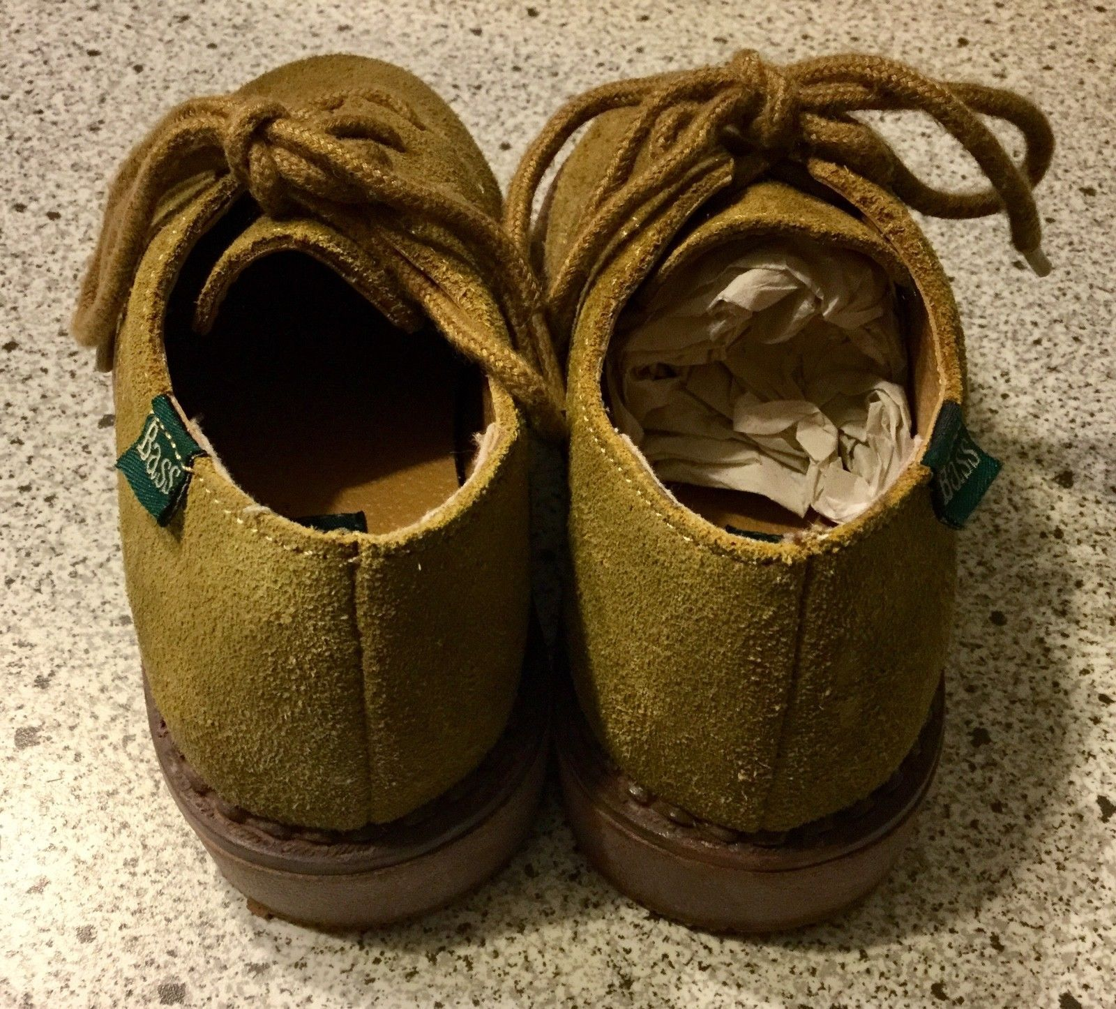 Baby Bass Tan Bucky II 2 Boys Shoes Size 8 M Leather 6547-261 With Box image 4