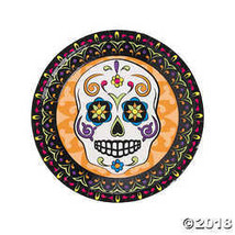 Day of the Dead Paper Dinner Plates - $3.61