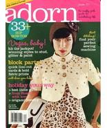 ADORN Magazine - Winter 2007 - $4.00