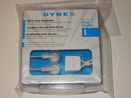 Dynex Ear Bud Headphones for Apple iPod Shuffle  **NEW**   Buy 1 Get 1 Free - $9.89