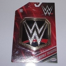 Jakks WWE New Factory Sealed World Heavyweight Champion Belt Buckle - $8.96