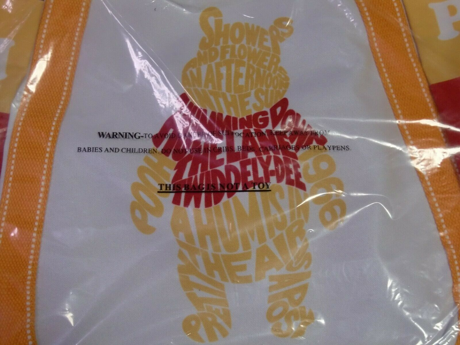 Disney Tote Bag Balloon Winnie the Pooh Magnet A 3 Size DPO-06 Limited Japan image 10