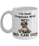 Funny Dog No Can Do Coffee Mug Gift Doggo Lovers - £11.59 GBP