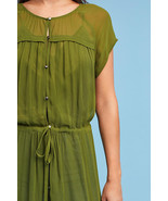 Anthropologie MAEVE Moss Midori Duster / Dress M - $87.50