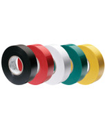 """Ancor Premium Assorted Electrical Tape - 1/2"""" x 20' - Black / Red / Whit... - $12.66"""