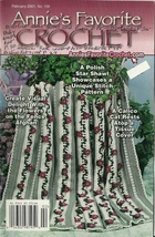 Annie's Favorite Crochet February 2001 No. 109 Pattern Book Magazine - $9.99