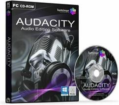 NEW Audacity 2020 (Professional Audio Music Editing-Recording Software)-... - $14.99
