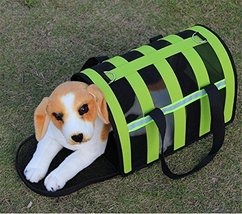 NACOCO Folding Pet Carriers Dog Cat Soft Travel Tote Bag Checkered Trave... - $19.79