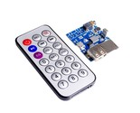 S lot mp3 wav wma decoder board 2w amplifier tf card audio aux with remote control thumb155 crop