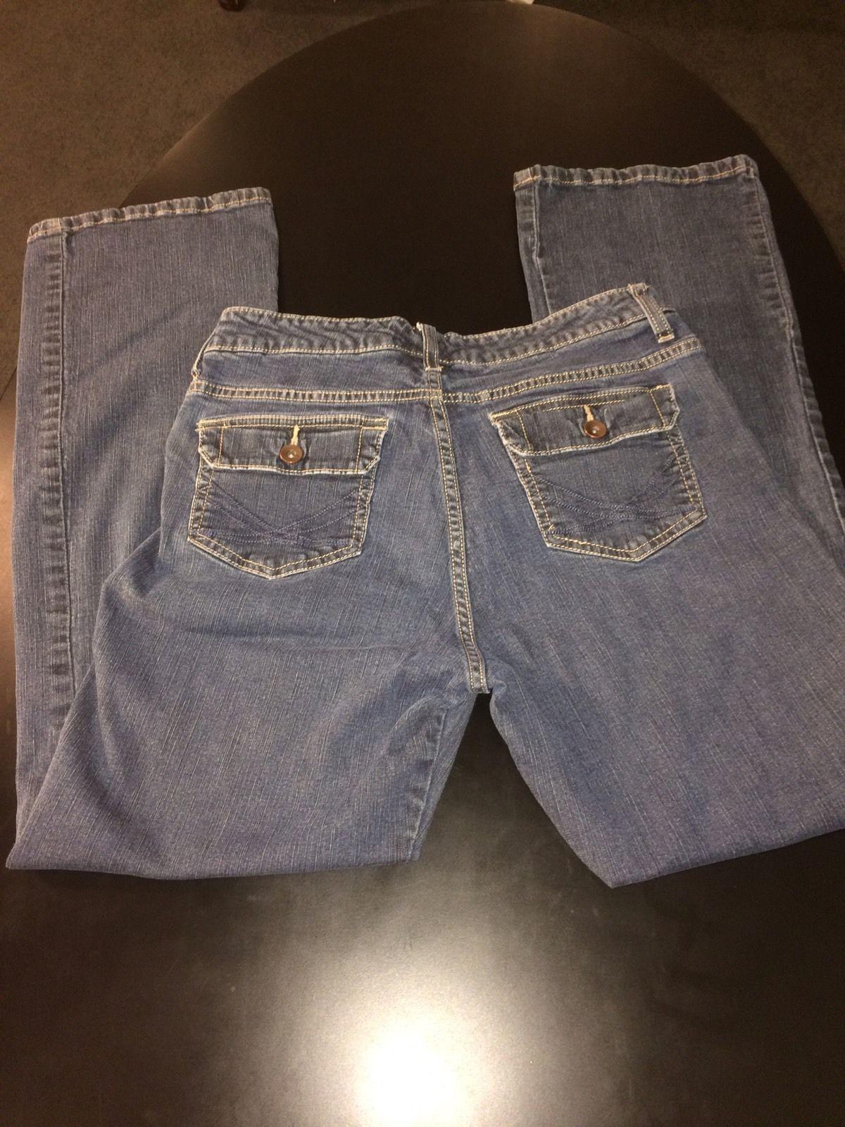 Lee Slender Secret Womens Jeans Size Medium Bin # 9