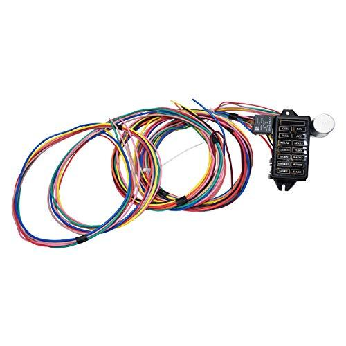 A-Team Performance 14-Circuit Basic Wire Kit Small Wiring Harness Cable Compatib