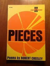 Pieces Robert Creeley USED Paperback Book - $7.92