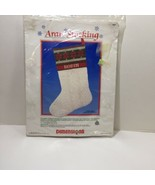 "Aran Stocking Needlepoint Kit Dimensions Gloria Kahn 16""  - $38.69"