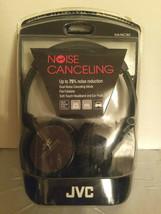 JVC HA-NC80 Noise Cancelling Headphones - Black - 75% Noise Reduction - $75.00