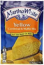 Martha White Yellow Cornbread & Muffin Mix, 6.5 Ounce