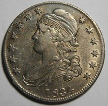 1834 Capped Bust Half Dollar 50¢ Coin Lot# MZ 4137