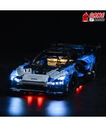 LED Light Kit for McLaren Senna GTR - Compatible with Lego 42123 Set - $24.99+