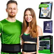 Lower Back Brace for Men and Women - Lumbar Support Back Braces for Lower Back P
