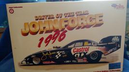 1:24 1997 ACTION NHRA CASTROL GTX FUNNY CAR JOHN FORCE 1996 DRIVER OF TH... - $33.20
