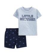 """Child of Mine by Carter's Baby Boys' """"Lil Bro"""" Outfit, 2 Piece Set 12M - $19.99"""