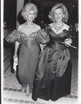 Eva Gabor / Barbara Davis - professional celebrity photo 1988 - $6.85